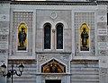 Trieste Tempio serbo-ortodosse della Santissima Trinità e di San Spiridone Außen Lato Nord 2.jpg