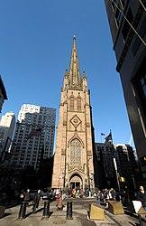 Die Trinity Church ist eine der bekanntesten Kirchen in New York.