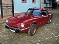 Triumph Spitfire 1500 with hardtop and luggage rack - front.jpeg