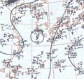 Tropical Storm Betty August 29, 1966 surface analysis.png