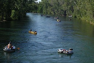 Boise, Idaho - Floating the Boise River
