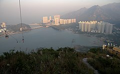 Tung Chung sunset colors - panoramio.jpg