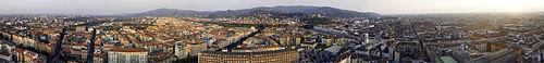 Torino vista dalla Mole Antonelliana