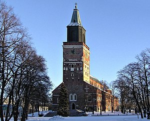 Evangelical Lutheran Church of Finland - The Cathedral of Turku is considered the national shrine of Finland, and is the seat of its de facto primate.
