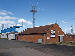 Whitby Town F.C. - Turnbull Ground, the club's home stadium