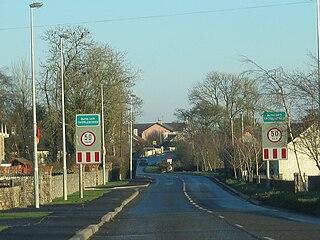 Two-Mile Borris Village in Munster, Ireland