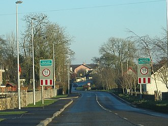Two-Mile Borris - Entrance to the village