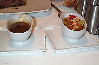 Steak sauce - Two types of steak sauce