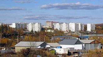 Amur Oblast - Image: Tynda from right bank