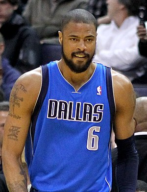 Tyson Chandler - Chandler with the Mavericks in 2011