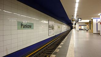 Berlin-Pankow station - Subway station