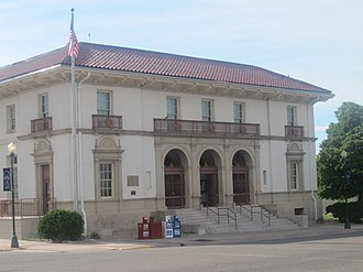 La Junta, Colorado - Image: U.S. Post Office, La Junta, CO IMG 5698
