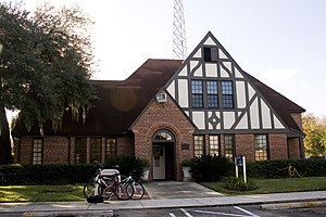 Old WRUF Radio Station - University of Florida Police Department Headquarters, formerly the WRUF Radio Station