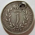 UNITED COLONY of DEMERRARY ^ ESSEQUIBO (BRITISH GUIANA) WILLIAM IV 1832 -1 SHILLING a - Flickr - woody1778a.jpg