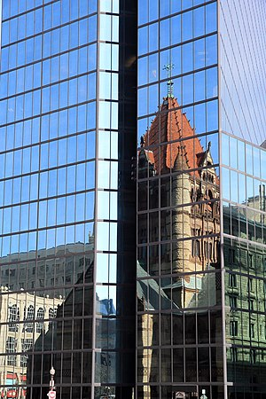 Campbell, Aldrich & Nulty - Reflection of Trinity Church
