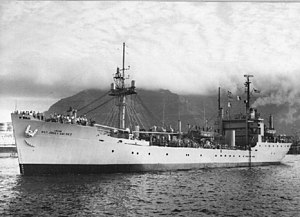 Technical research ship - USNS Private Jose F Valdez (T-AG-169)