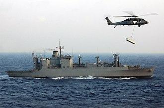 Naval Fleet Auxiliary Force - Image: USNS Flint T AE 32