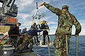 USNS Navajo (T-ATF 169) diving training.jpg
