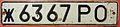 USSR, RUSSIAN S.F.S.R., ROSTOV OBLAST or REGION -LICENSE PLATE - Flickr - woody1778a.jpg