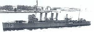 USS Rathburne (DD-113)