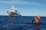USS Anchorage moves toward Orion capsule after EFT-1.jpg
