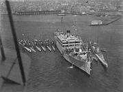 USS Argonne with submarines 1928 NARA 19-LC-19C