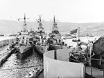 USS Biscayne (AVP-11) and USS Doran (DD-634) at Arzew in June 1944.jpg