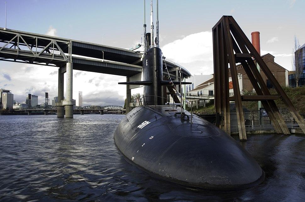 USS Blueback SS 581 - Portland OR