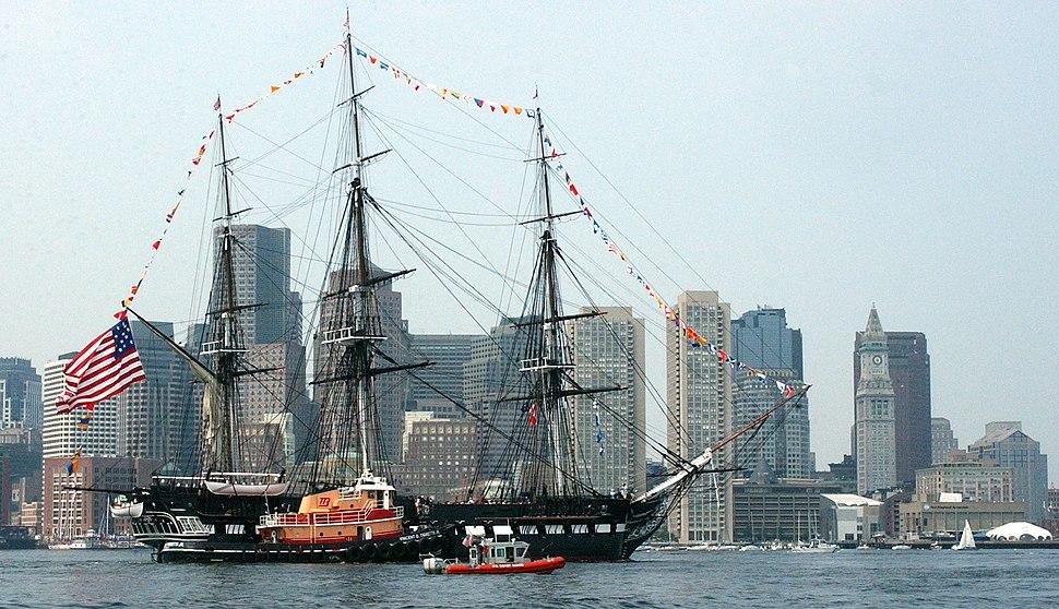 USS Constitution Boston 2005