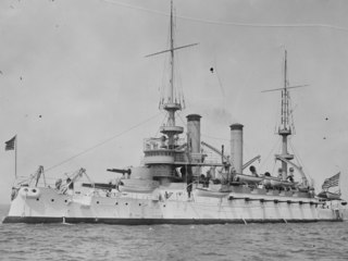 USS <i>Kentucky</i> (BB-6) Kearsarge-class pre-dreadnought battleship of the United States Navy