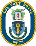 USS Port Royal CG-73 Crest