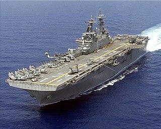 <i>Wasp</i>-class amphibious assault ship class of Landing Helicopter Dock amphibious assault ships