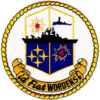 USS Worden (CG-18) insignia, 1963 (NH 68650-KN).png