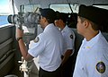 US Navy 081024-N-1722W-133 Navy Junior Reserve Officer Training Corps (NJROTC) students look through the.jpg