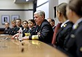 US Navy 101102-N-8273J-098 Chief of Naval Operations (CNO) Adm. Gary Roughead answers questions while meeting with Navy ROTC students at Rice Unive.jpg