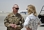 US Under Secretary of Defense Christine Wormuth visits to TAAC-S to discuss Resolute Support progress 150701-N-SQ656-272.jpg