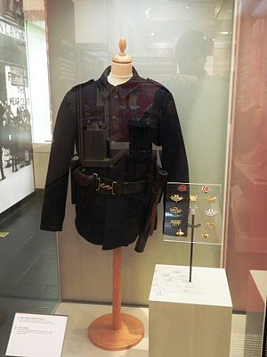 Ulster Special Constabulary - 1920 Special Constabulary uniform, in the Ulster Museum