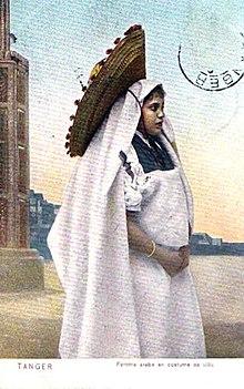 92895a989 اللباس التقليدي المغربي - ويكيبيديا، الموسوعة الحرة
