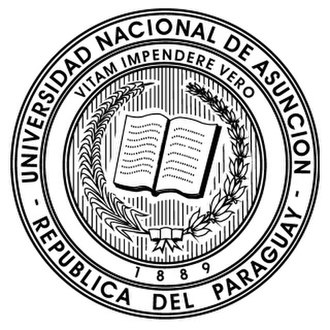 Universidad Nacional de Asunción - Image: Univ Nacional Asuncion Logo