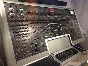 UNIVAC I - UNIVAC I operator's console closeup