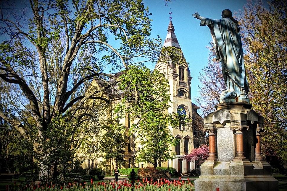 University of Notre Dame's God Quad