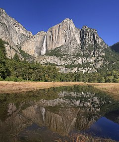 Upper Yosemite fall with reflection 1.jpg