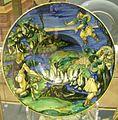 Urbino, francesco xanto avelli, piatto con frisso e la freccia d'oro, 1525-30.JPG