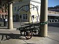Ursulines Street French Quarter Aug 2009 French Market Place Cart.JPG