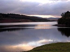 Usk Reservoir - Image: Usk reservoir