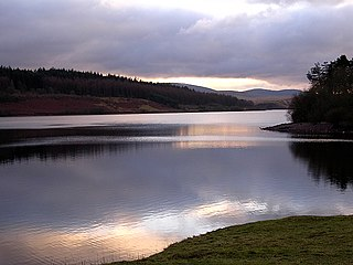 Usk Reservoir A lake in Carmarthenshire and Powys, Wales