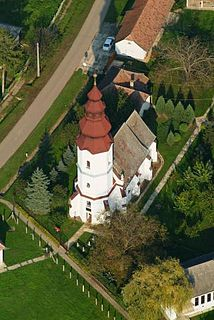 Vámosoroszi Place in Northern Great Plain, Hungary