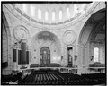 VIEW OF ALTAR AND WESTERN TRANSEPT - U.S. Naval Academy, Academy Chapel, Annapolis, Anne Arundel County, MD HABS MD,2-ANNA,65-1-10.tif