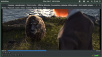 VLC 3.0.4 in Linux on GNOME Shell 3.30--playing Cosmos Laundromat, a short film by Blender Foundation, released at 2015-08.png