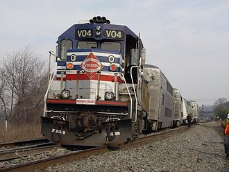 Virginia Railway Express - VRE derailment on January 5, 2006.